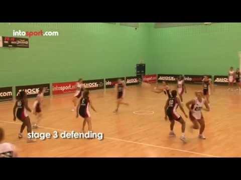 Netball game: essential defending skillsDefenceNetball Drills Coaching