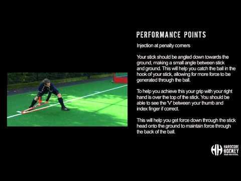 Injecting at penalty corners-field hockeyHockey Drills Coaching