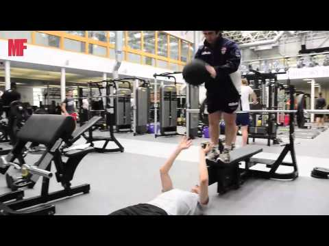 Rugby league training with men's fitnessRugby Drills Coaching