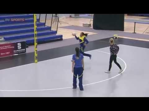 Pamela cookey masterclass: goal attackAttackNetball Drills Coaching