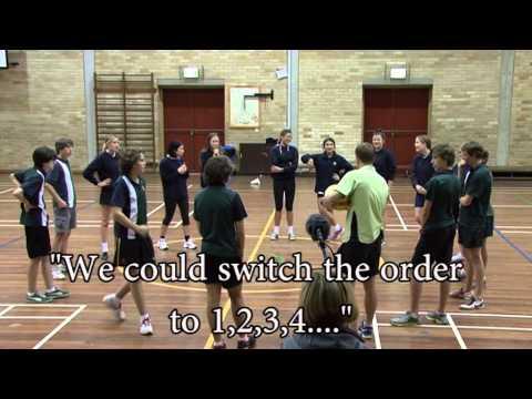 Game sense - netball - session one - team warm-upPassingNetball Drills Coaching