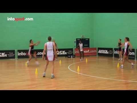 Netball team passing drill- in the squarePassingNetball Drills Coaching