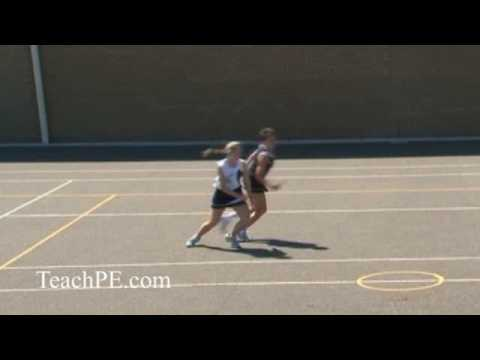Netball - attacking movement - the half turnMovementNetball Drills Coaching