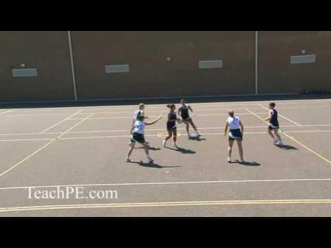 Netball drill - attacking movement - 3v3AttackNetball Drills Coaching