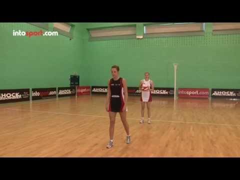 Netball skills: reaction pass drillDecision makingNetball Drills Coaching