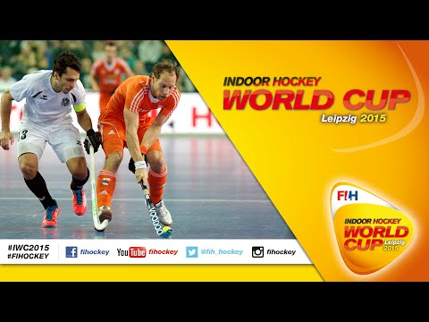 Netherlands v austria - final full match men's indoor hockey world cup 2015 germanyGame relatedHockey Drills Coaching