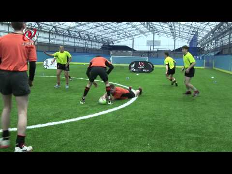 Stage 2: small sided game - touch rugby with variationsTag RugbyRugby Drills Coaching