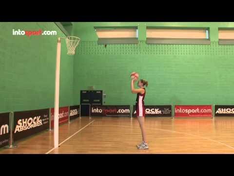 Netball skills- basic shot techniqueShootingNetball Drills Coaching