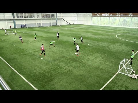 How to perfect the possession game | soccer passing drill | nike academyPossessionFootball Drills Coaching