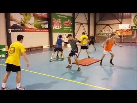 Handball fitness and defense training u15,u17Handball Drills Coaching