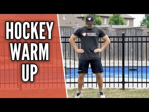 Hockey warm up 🏒  - do this before hockey gamesHockey Drills Coaching
