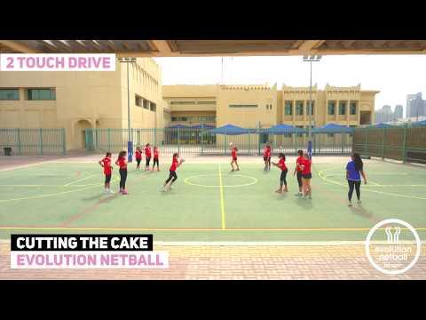 Evolution netball drills - cutting the cake variationsNetball Drills Coaching