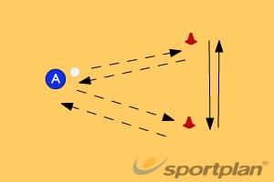 Passing and catchingBall skillsNetball Drills Coaching