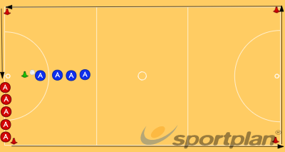 Shoot and Run/Golden ChildSmall gamesNetball Drills Coaching