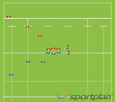 Copy of Attacking Scrum 1:  Straight PushRuckRugby Drills Coaching