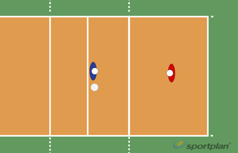 Touch9 Conditioned gamesVolleyball Drills Coaching