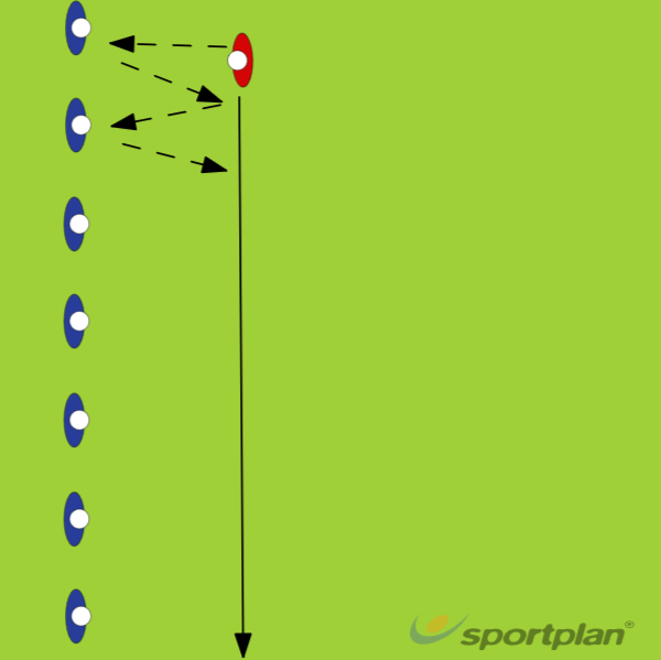 Passing back and forthPassingRugby Drills Coaching