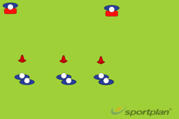 Pass and Follow - WarmupRugby Drills Coaching