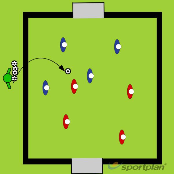 Unstopa-BallConditioned gamesFootball Drills Coaching