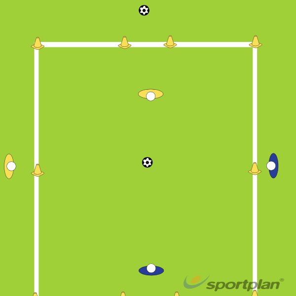 1 on 1 dribbling and finishing1 v 1 skillsFootball Drills Coaching