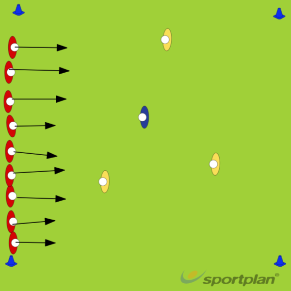 Campo minadoAgility & Running SkillsRugby Drills Coaching