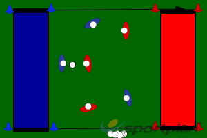 Small sided match-playConditioned GamesHockey Drills Coaching