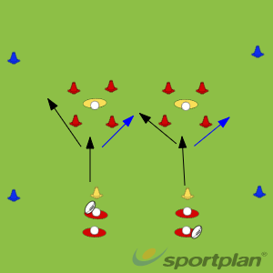 Part -Agility & Running SkillsRugby Drills Coaching