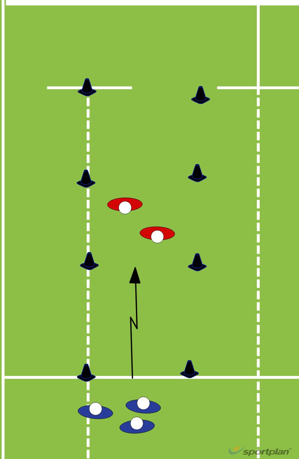 3v2 ruckingRuckRugby Drills Coaching