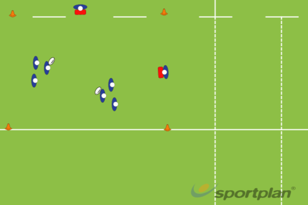offload decision making drillRugby Drills Coaching