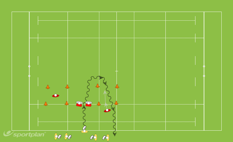 carrying the ball & 1vs 1 tagRugby Drills Coaching