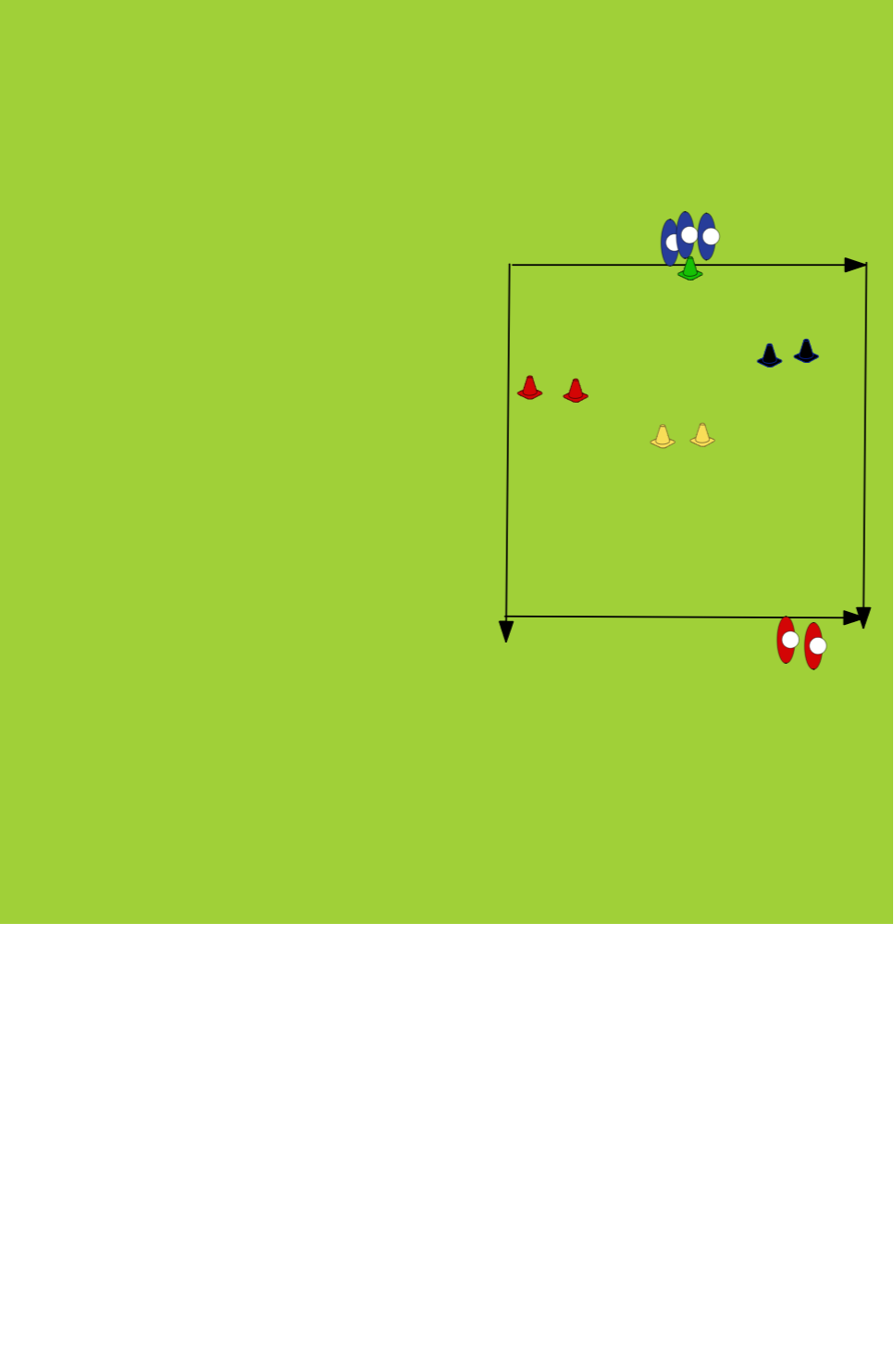 Defensive Drill - Splitting the pitchDefensive PatternsRugby Drills Coaching