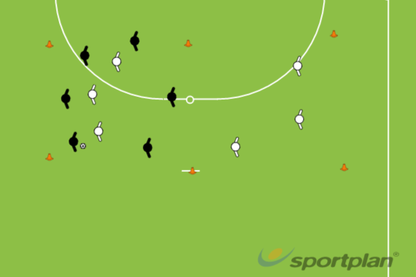 6v3 TransitionPossessionFootball Drills Coaching