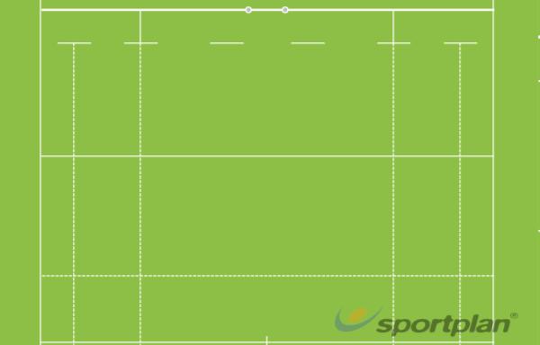 Medio campo de RugbyRugby Drills Coaching