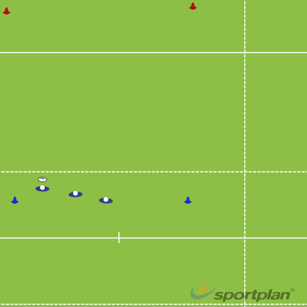 Touch Rugby League Run ThroughsPassingRugby Drills Coaching