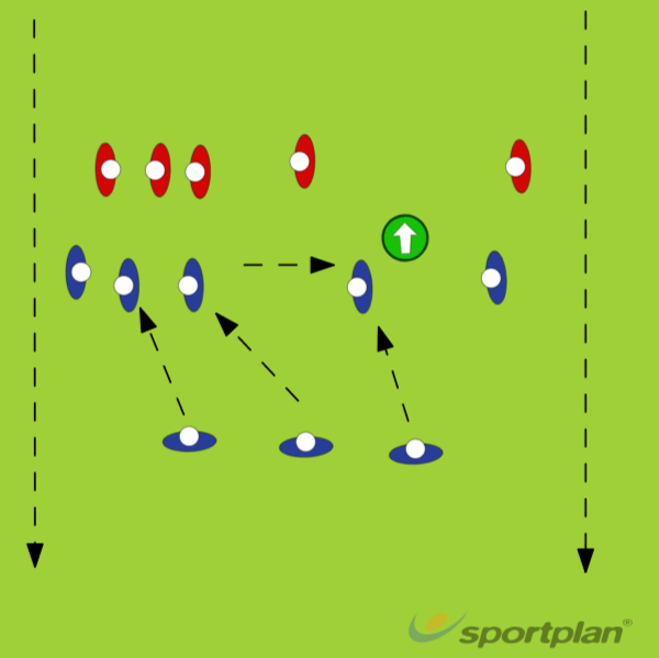 Eagle Line-0ut DRIVELineoutRugby Drills Coaching