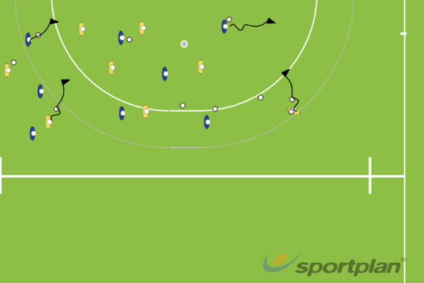 receive and carryMoving with the ballHockey Drills Coaching