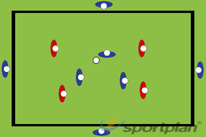 Pressing défensifConditioned GamesHockey Drills Coaching