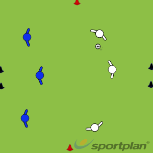 3v3 conditioned gameConditioned gamesFootball Drills Coaching