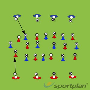 Football Battleships (JUNIOR)Football Drills Coaching