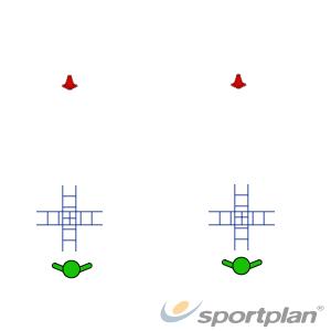 Agility SprintsFootball Drills Coaching