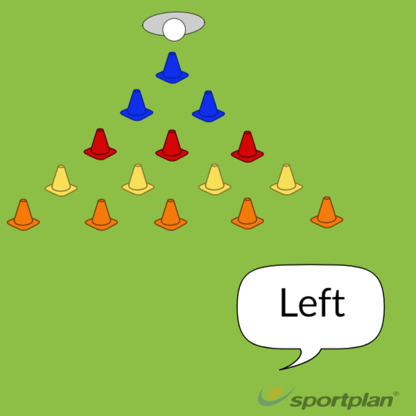 Pyramid Scrum HalfPassingRugby Drills Coaching
