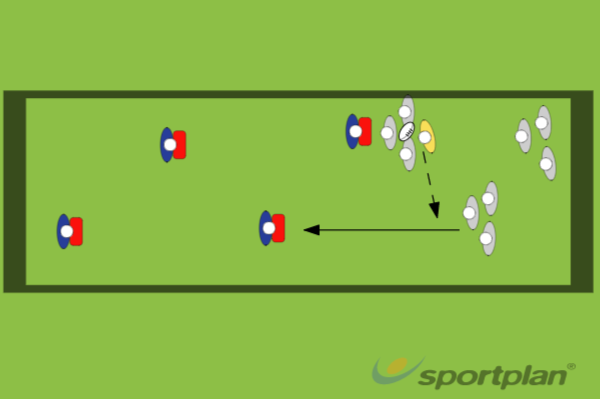 Set Up Of Tackle MaulMaulRugby Drills Coaching