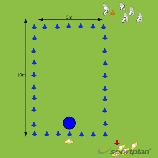 Double TackleTacklingRugby Drills Coaching