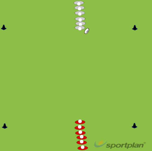 Creative Attack (2v2 or 3v3)Agility & Running SkillsRugby Drills Coaching