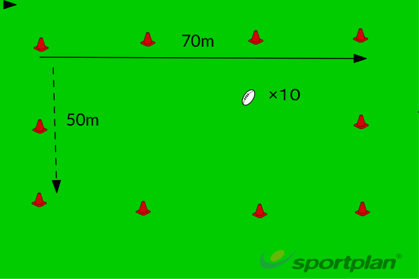 Setting UpRugby Drills Coaching
