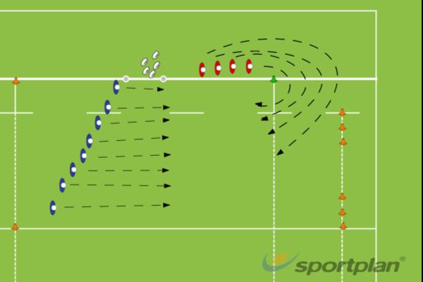 Team PlayTag RugbyRugby Drills Coaching