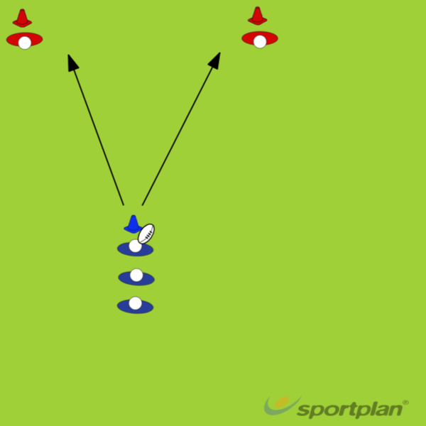Drill 3 -  DumpingRugby Drills Coaching