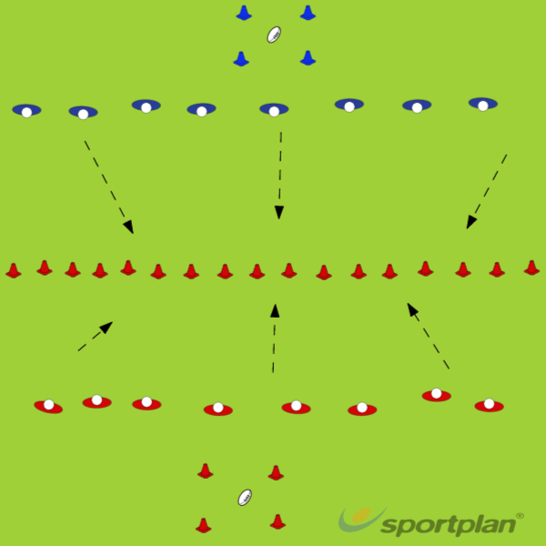 capture the flagRugby Drills Coaching