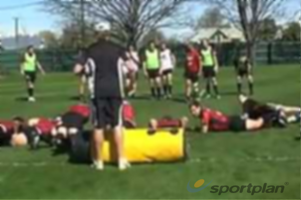 Ruck defence - 5 minsRugby Drills Coaching
