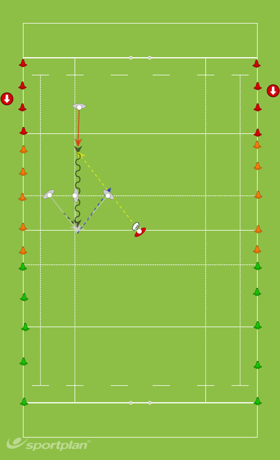 1 3 3 1Rugby Drills Coaching
